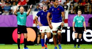 Referee Peyper snubbed for World Cup semis over Wales photo row
