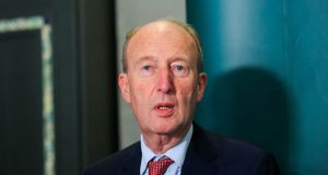 Committee which upholds standards in the Dáil did not apply any sanctions in Shane Ross's case . Photograph: Gareth Chaney Collins