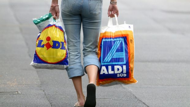 In the early days, both Aldi and Lidl struggled to attract Irish suppliers, but as both became known for their straight dealing and reliability more came on board. Photograph: Ulrich Baumgarten via Getty Images