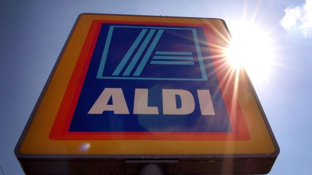 Today, Aldi has more than 200 Irish companies making products for it. Photograph: Christopher Furlong/Getty Images