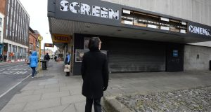 The former Screen Cinema on Hawkins Street, Dublin.  Photograph: Cyril Byrne/The Irish Times
