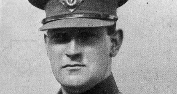 Michael Collins - pictured in 1921. This postcard image became a popular memento after he was killed in an ambush near Bandon in County Cork. Photograph: Hulton Archive