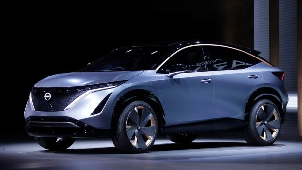 Nissan's Ariya concept is expected to make it through to production