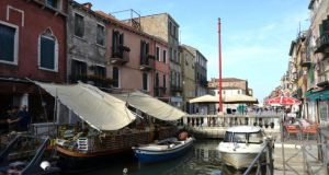 Take5: a 60sq m (645sq ft) apartment on Via Garibaldi, in the Castello  district of Venice, costs €270,000
