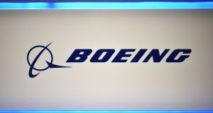 Despite industrial setbacks, Boeing shares were up about 2 per cent in premarket trading. Photograph: Mandel Ngan/AFP via Getty Images