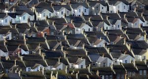 Urban sprawl is spreading again, out from the greater Dublin region, raising big questions for housing and planning. Photograph: Gareth Fuller/PA Wire