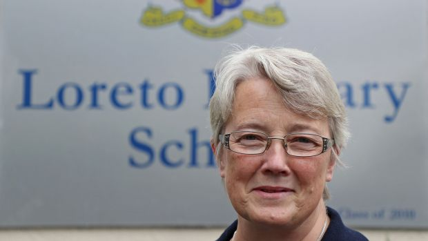 "Sr Maria Hyland, principal of Loreto Primary School, Rathfarnham: ""Children come in fresh and happy in the mornings. There is a great buzz around the place, which is nice."" Photograph Nick Bradshaw for The Irish Times"