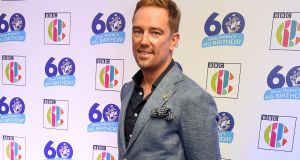 Former Blue Peter and Sky Sports presenter Simon Thomas, whose wife died in 2017. After her death, Thomas recorded his feelings on his blog, A Grief Shared. That in turn led him to write Love Interrupted. Photograph:  Shirlaine Forrest/Getty Images