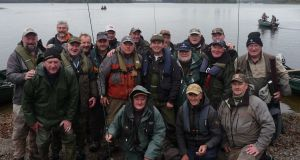 The Irish group at Lake  Menteith in Scotland