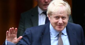 British prime minister Boris Johnson has written to Labour leader Jeremy Corbyn urging his support to 'get Brexit done'. Photograph: Hollie Adams/PA Wire