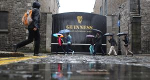 The Guinness Storehouse at St James's Gate Brewery in Dublin is one of Ireland's biggest tourist attractions.