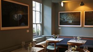 The Commons Cafe at (Moli) Museum of Literature Ireland, Dublin. Photograph: Nick Bradshaw / The Irish Times