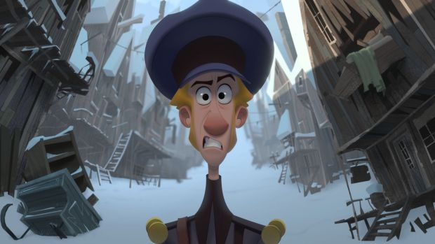 Klaus has a the feel of classic Disney animation. Photograph: Netflix