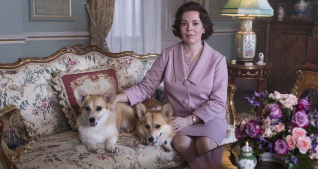 Olivia Colman as Queen Elizabeth in The Crown. Photograph: Netflix