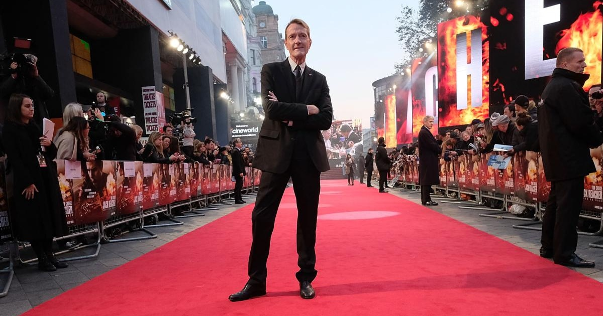 Lee Child at the European premiere of Jack Reacher: Never Go Back in London. Photograph: Mike Marsland/Mike Marsland/Getty