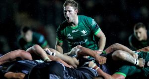 Connacht's Kieran Marmion: he  has been linked with a move to Saracens.  Photograph: Laszlo Geczo/Inpho