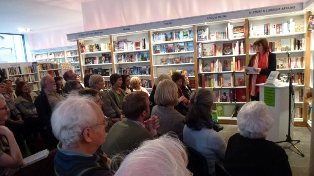We soon became a popular spot for book launches due to our large open floor space