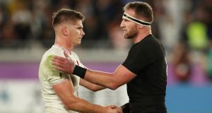 Eddie Jones staying calm after England down 'rugby Gods' New Zealand