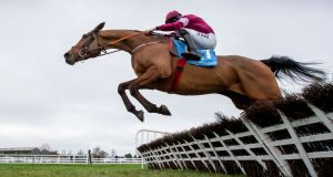 Battleoverdoyen made a winning start to his chasing career at Galway on Sunday. Photograph: Morgan Treacy/Inpho