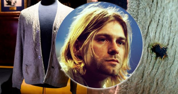 Kurt Cobain's cardigan sells for record $334,000