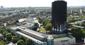 "There were ""serious shortcomings"" and ""systematic"" failures by the London Fire Brigade (LFB) in its response to the Grenfell disaster, according to the official report into the tragedy. File Photograph: David Mirzoeff/PA Wire"