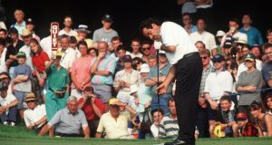 Sam Torrance won the 1995 Irish Open at Mount Juliet. Photograph: Billy Stickland/Inpho