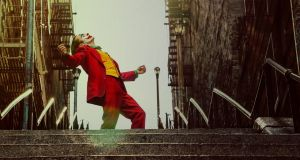 Joker: this staircase in the Bronx in New York has become an unlikely tourist spot. Photograph:	Niko Tavernise