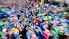 What had so far separated the Dublin Marathon from most of its other big city rivals was its guaranteed race entry. Photograph: Inpho
