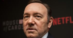 Kevin Spacey. Photograph:  Nicholas Kamm/AFP