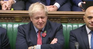 Do or die? UK prime minister Boris Johnson. Photograph: House of Commons/PA Wire