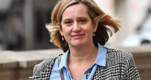 Amber Rudd quit the cabinet and gave up the Conservative whip in September. Photograph:  Ben Stanstall/AFP/Getty Images