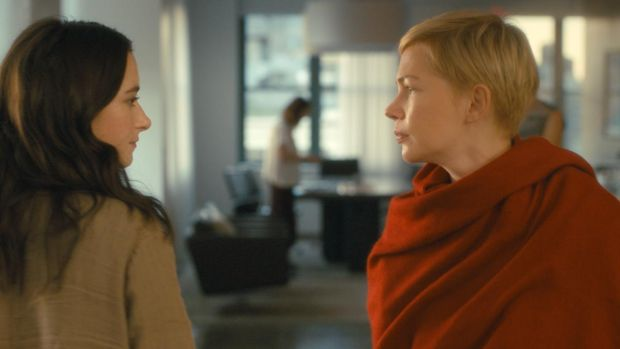 New this week: Abbey Quinn and Michelle Williams in After the Wedding