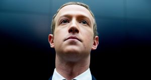 Facebook CEO Mark Zuckerberg needs to stop disguising a defence of revenue streams as a defence of democracy rather than the serious threat to it that Facebook is. Photograph: Michael Reynolds/EPA