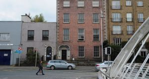 The Usher's Island James Joyce house, location of  the short story,  The Dead. Photograph: Aidan Crawley