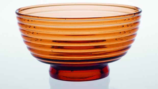 Glass bowl by Aino Aalto. Courtesy Laurence King Publishing