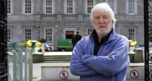 Playwright and poet Tom MacIntyre has died at the age of 87 following a long illness. Photograph: Eric Luke