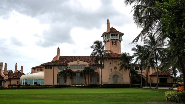 Donald Trump has owned the Mar-a-Lago estate in Palm Beach since 1985. Photograph: Saul Martinez/The New York Times
