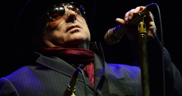 Van Morrison: 'Let's see if I need to make some notes here.' Photograph: Cyril Byrne/The Irish Times