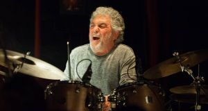 Legendary drummer Steve Gadd plays two sets with Danish organ trio Blicher Hemmer Gadd at Lost Lane, Dublin,  on Wednesday, October 6th