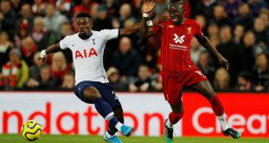 Sadio Mane: Klopp claims leading internationals such as  Mané are approaching breaking point with only two weeks' rest per year. Photograph: Phil Noble/Reuters
