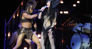 Cher at 3Arena Dublin. Photograph: Aidan Crawley/The Irish Times