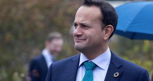 The Taoiseach   is being urged to contest elections in Northern Ireland by Young Fine Gael, the party's youth wing with which Leo Varadkar  was active as a student.  Photograph: Colin Keegan/Collins Dublin