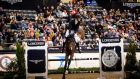 David Blake and Keoki during the National Horse Show Longines Grand Prix in Kentucky. Photograph: FEI