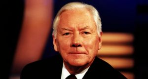 "Gay Byrne had a superb instinct for a story. He spoke of the need to catch an issue ""at the crest of its wave"". Photograph: RTÉ"