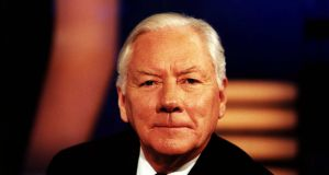 Gay Byrne: 'I think about death like everybody else thinks about, anybody who thinks that they're going to be remembered.' Photograph: RTÉ