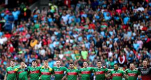 Financier Tim O'Leary says the Mayo senior football team did not benefit from the full value of his €150,000 donation last year, which was its intended purpose. File photograph:  James Crombie/Inpho