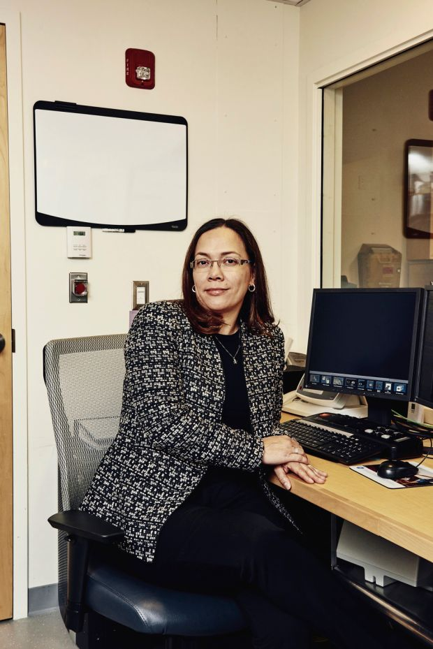 Yakeel Quiroz, director of the familial neuroimaging lab at Massachusetts General Hospital in Boston. Photograph: Tony Luong/The New York Times