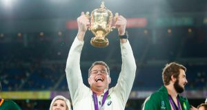 South Africa's head coach Rassie Erasmus instantly changed the perception of the Springbok brand, but he did it for the right reasons. Photograph: Odd  Andersen/AFP via Getty Images