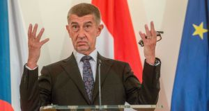 "Czech Republic's prime minister Andrej Babis: ""Member states should have the ability to decide on their own about which areas they want to spend these resources on."" Photograph: Michal Cizek/AFP"