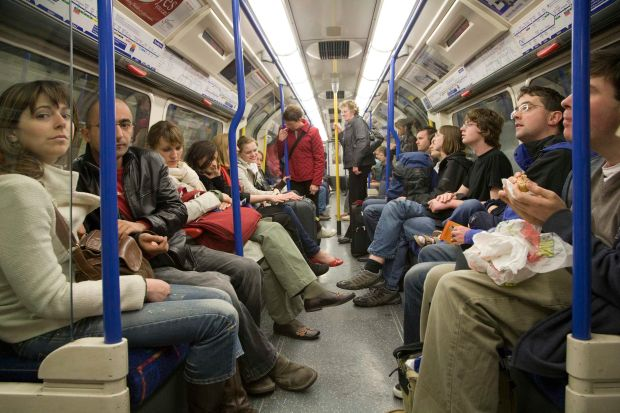 For an average Londoner, taking the Tube for one hour a day in effect doubles their exposure to harmful PM 2.5 particles, according to a Financial Times investigation. Photograph: Getty